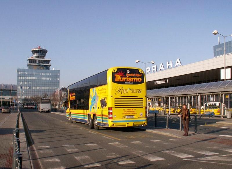Autobus Aeropuerto de Praga