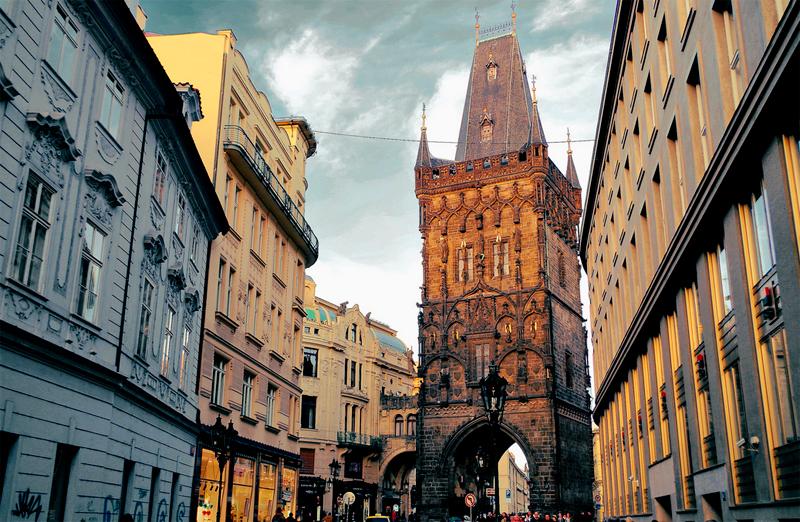 Torre Polvora Praga